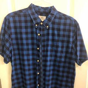 Surfside supply short sleeve collared shirt XL